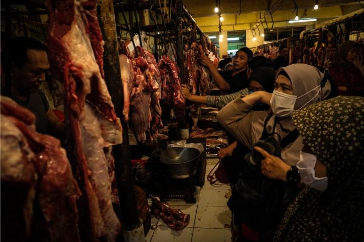 Jelang Idul Fitri, Harga Daging Sapi Merangkak Naik