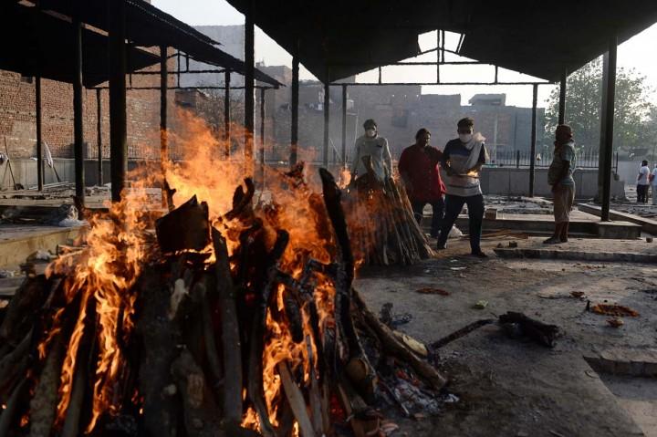 Kembali Rekor, Kematian Covid-19 di India Tembus 250 Ribu Orang