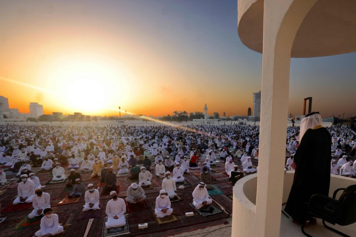 Foto: Suasana Hari Raya Idul Fitri di Berbagai Negara