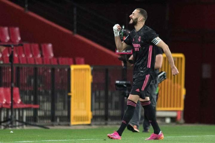 Liga Spanyol: Gasak Granada 4-1, Madrid Terus Tempel Atletico