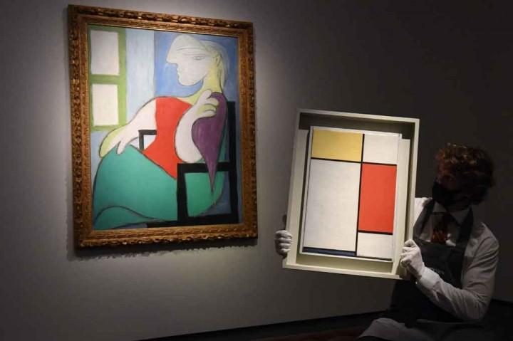 Lukisan Picasso Terjual Seharga Rp1,4 Triliun