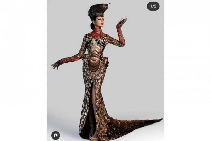 3 Berita Foto Terpopuler: Ayu Maulida Berkostum Komodo hingga