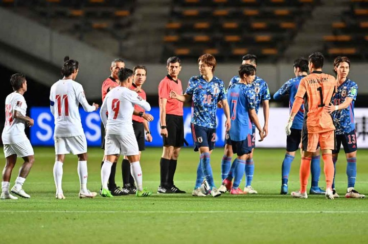 Kualifikasi Piala Dunia 2022: Jepang Gunduli Myanmar 10-0