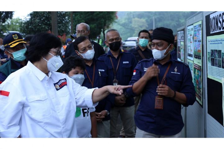 KLHK Lepasliarkan Elang Jawa di Taman Nasional Gunung Halimun