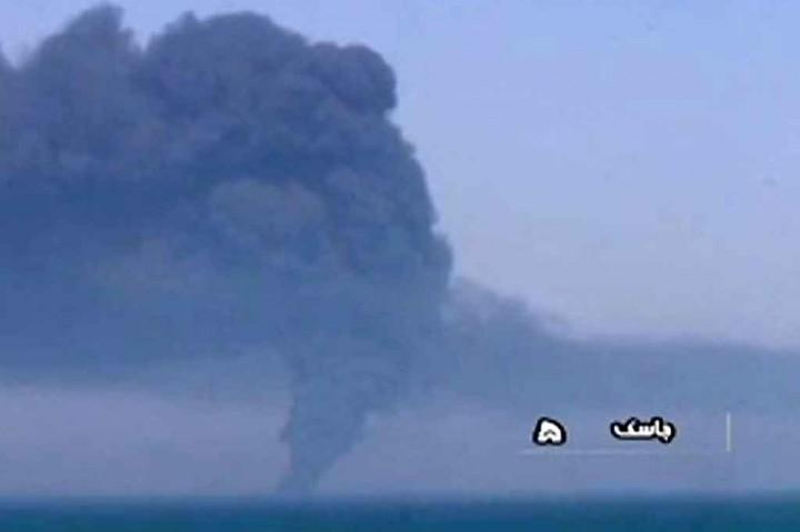 Kapal AL Iran Tenggelam Pascakebakaran di Teluk Oman