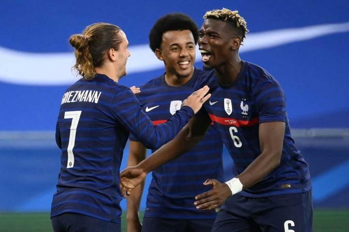 Laga Persahabatan: Prancis Gilas Wales 3-0