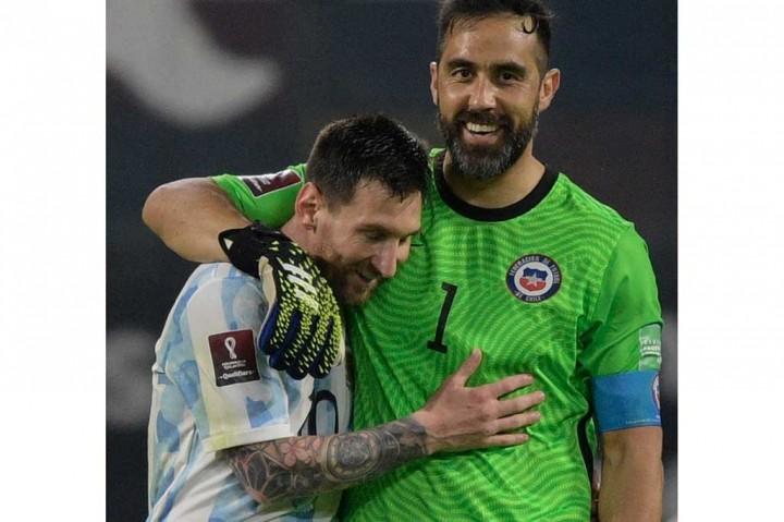 Argentina Vs Chile: Tim Tango Ditahan Imbang 1-1