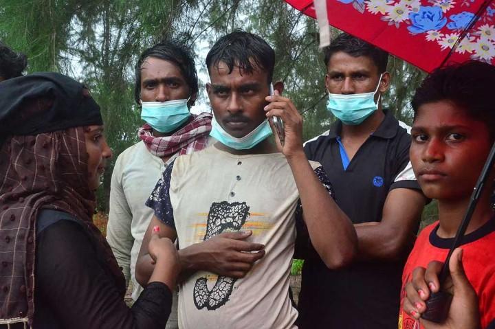 Puluhan Etnis Rohingya Terdampar di Aceh Timur