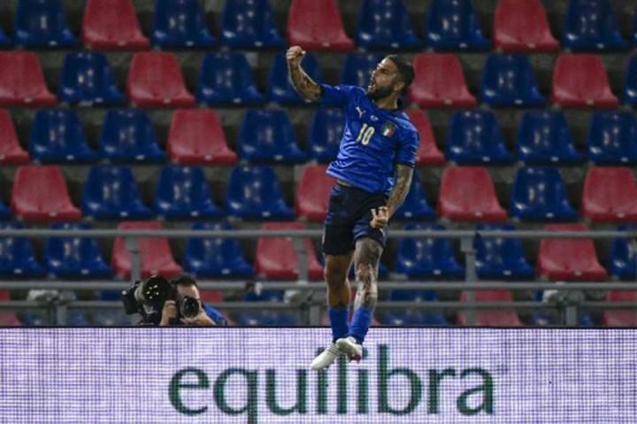 Laga Persahabatan: Italia Lumat Republik Ceko 4-0
