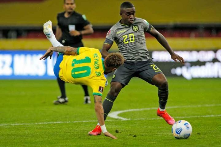 Kualifikasi Piala Dunia 2022: Brasil Tekuk Ekuador 2-0