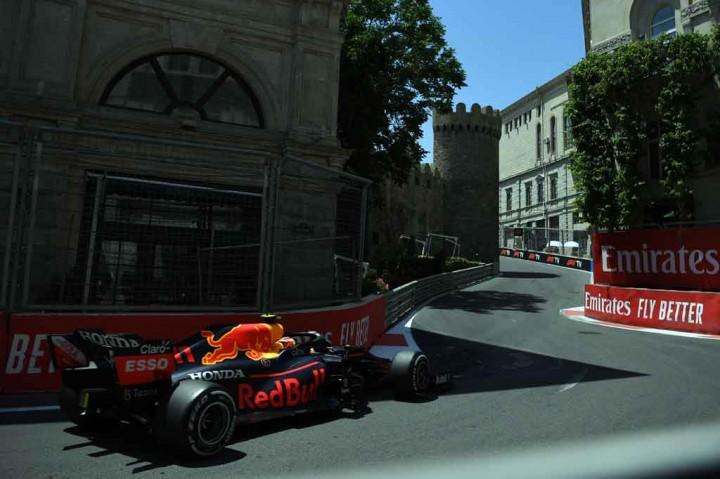 FP3 GP Azerbaijan: Gasly Tercepat, Verstappen Kecelakaan