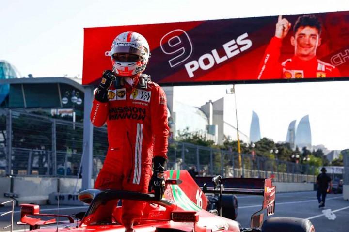 Leclerc Rebut Pole Position GP Azerbaijan