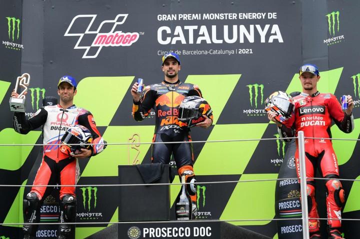 Foto: Miguel Oliveira Juara MotoGP Catalunya