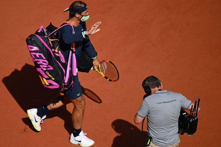 Nadal Tekuk Sinner di 16 Besar Prancis Terbuka
