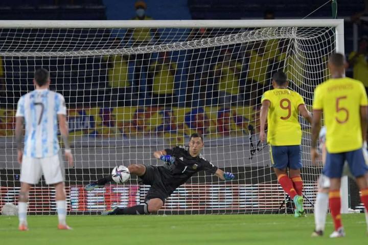 Kualifikasi Piala Dunia: Argentina Diimbangi Kolombia 2-2