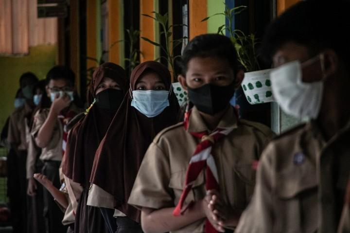 Hari Ini, 226 Sekolah di DKI Mulai Uji Coba Belajar Tatap Muka