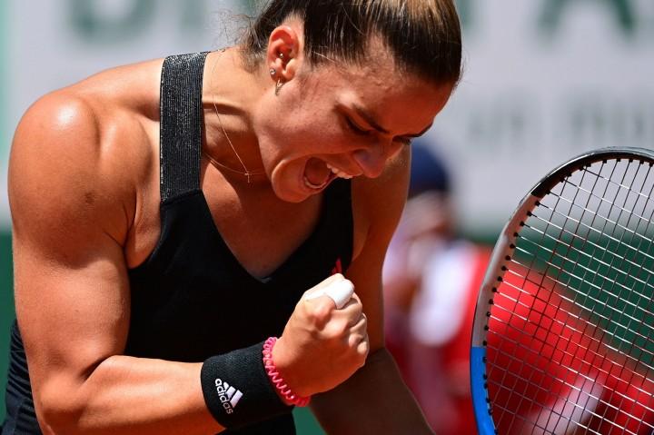 Prancis Terbuka: Maria Sakkari Tundukkan Juara Bertahan Iga