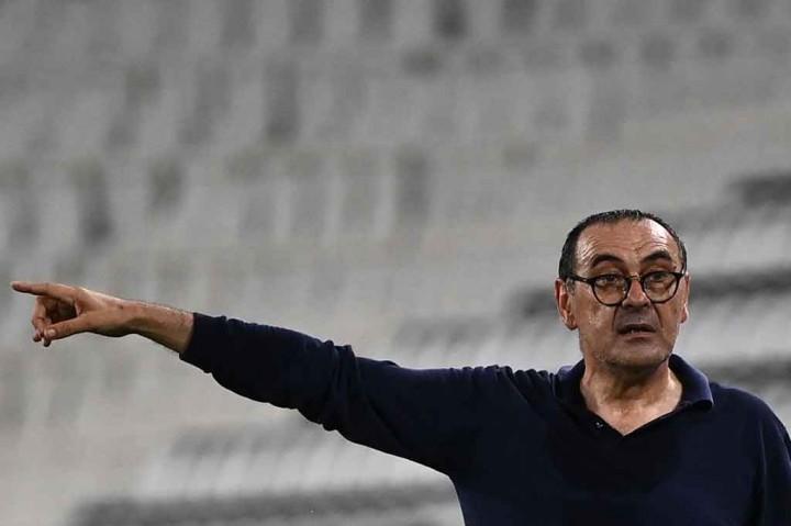 Foto: Maurizio Sarri Resmi Tukangi Lazio