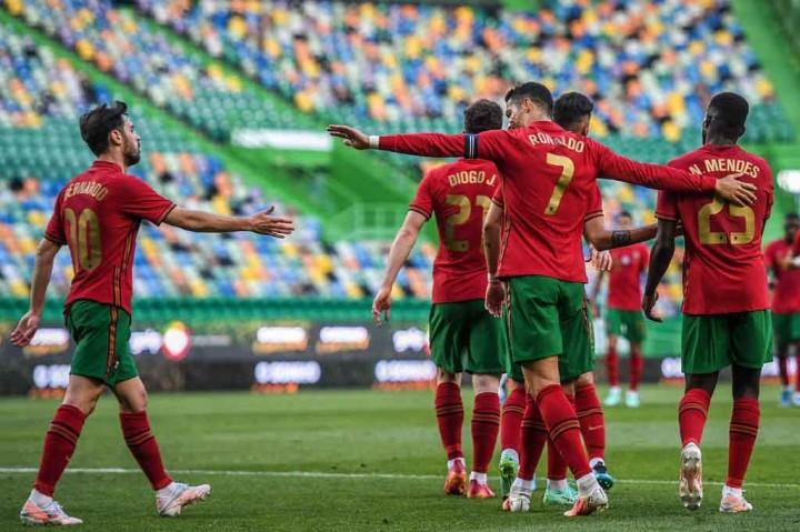 Laga Persahabatan: Portugal Lumat Israel 4-0