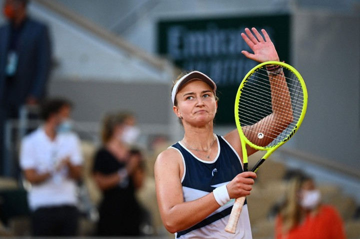 Krejcikova Tantang Pavlyuchenkova di Final Prancis Terbuka