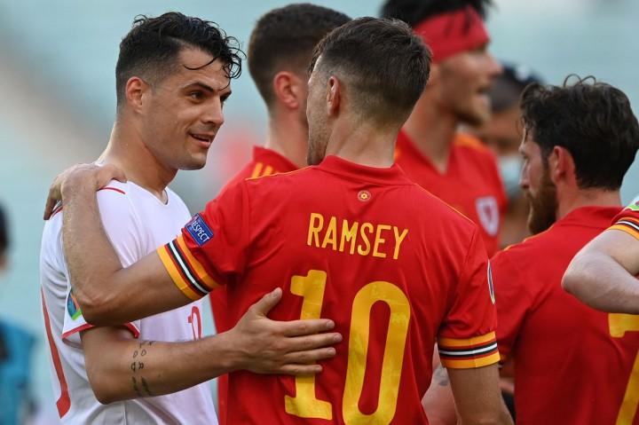 Euro 2020: Wales Vs Swiss Berakhir Imbang 1-1