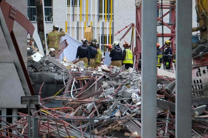 Bangunan Sekolah di Belgia Ambruk, Tiga Orang Meninggal Dunia