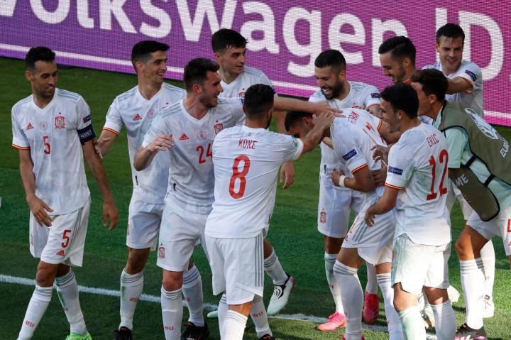 Euro 2020: Bungkam Slovakia 5-0, Spanyol Lolos ke 16 Besar