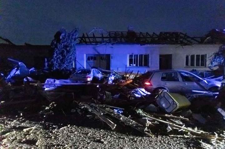 Tornado Terjang Ceko, Beberapa Orang Meninggal