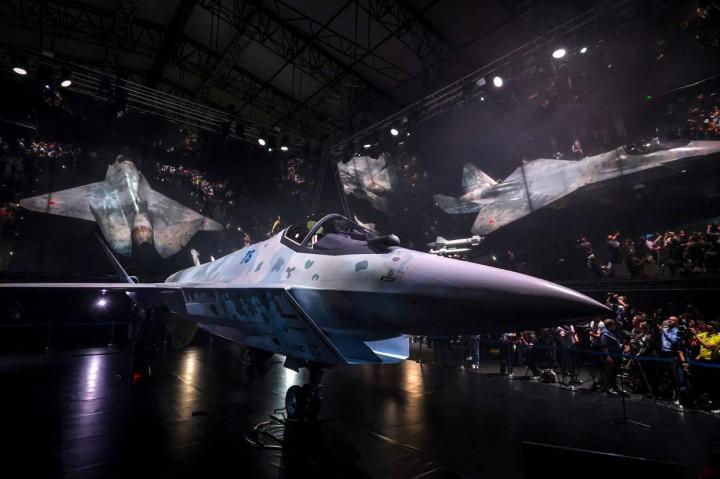Penampakan The Checkmate, Jet Tempur Siluman Terbaru Rusia
