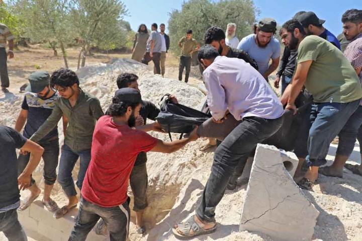 Tentara Suriah Tembaki Benteng Pemberontak, Tujuh Warga Sipil