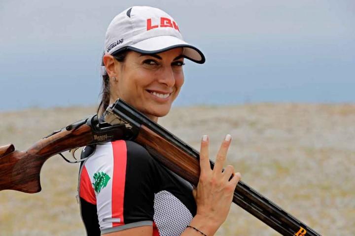 Harapan Petembak Perempuan Lebanon Raih Kesuksesan di Olimpiade