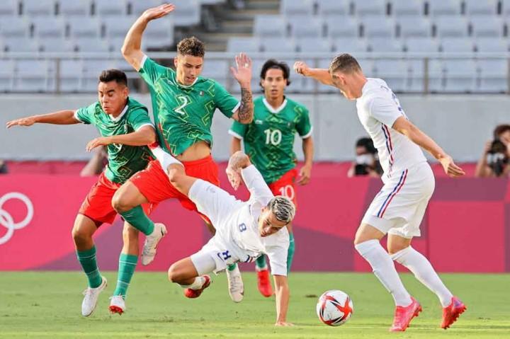 Olimpiade Tokyo: Prancis Kalah Telak 1-4 dari Meksiko