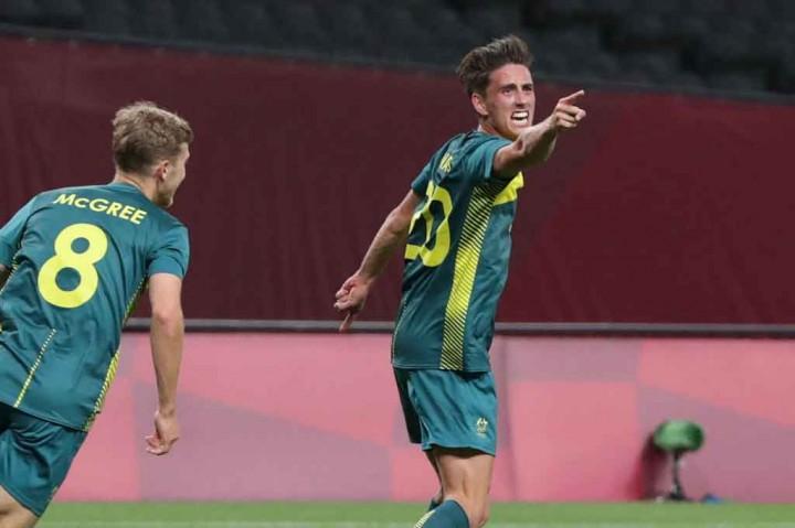 Sepak Bola Olimpiade Tokyo: Argentina Takluk dari Australia 0-2