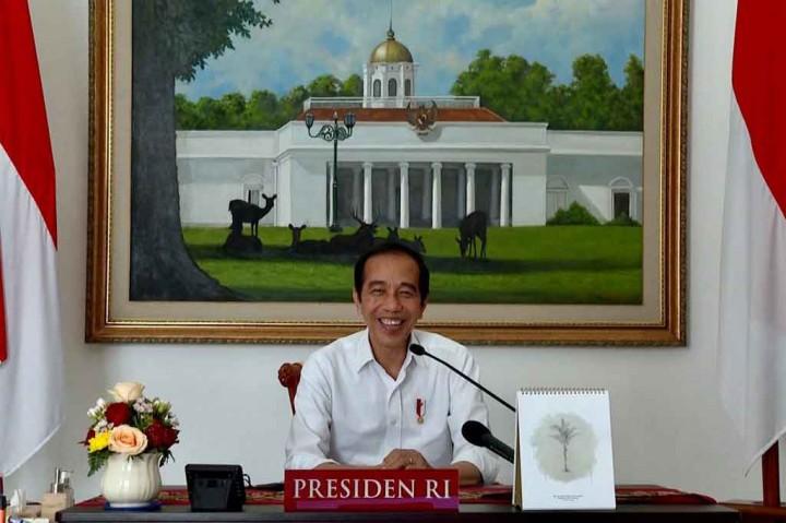 Saat Presiden Jokowi Berdialog dengan Pelajar SDN Sudimara