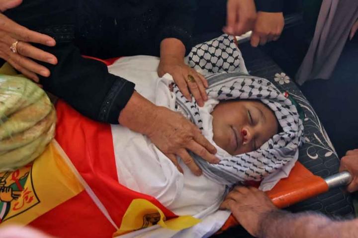 Tragis! Bocah Palestina Berumur 12 Tahun Meninggal Ditembak