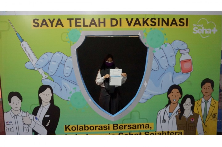 Foto: Sentra Vaksinasi 'Sinergi Sehat' Siapkan 2.000 Vaksin per