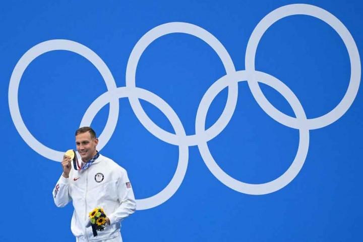 Caeleb Dressel Rajai Renang Nomor Sprint Olimpiade Tokyo