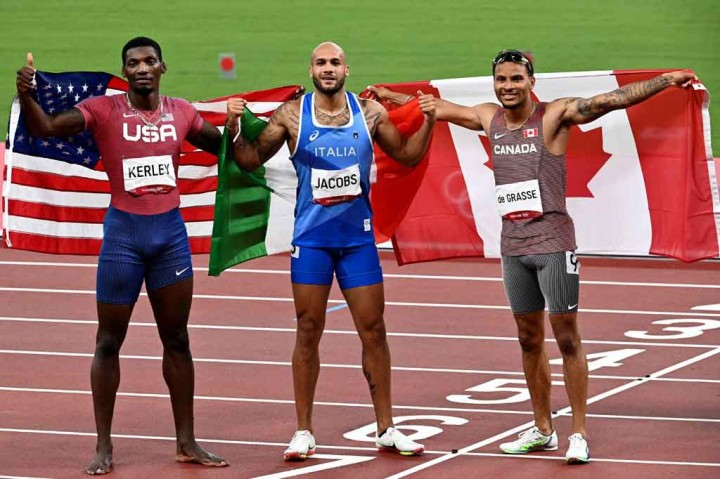 Marcell Jacobs Juara Baru 100m Putra Olimpiade
