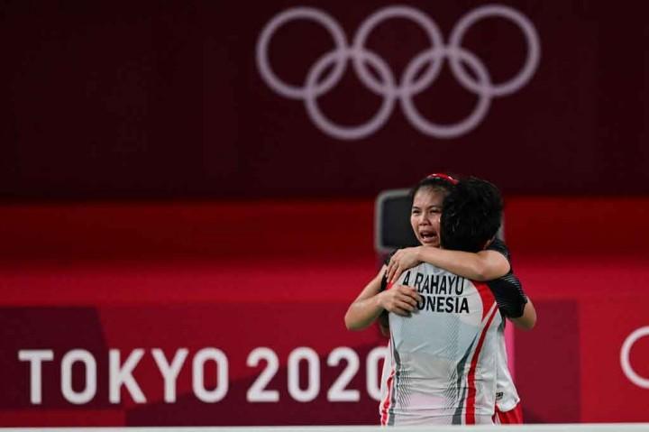 Sejarah! Greysia/Apriyani Rebut Emas Bulu Tangkis Olimpiade