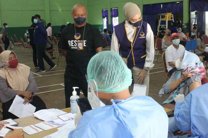Okky Asokawati: NasDem Lebihi Target Vaksinasi