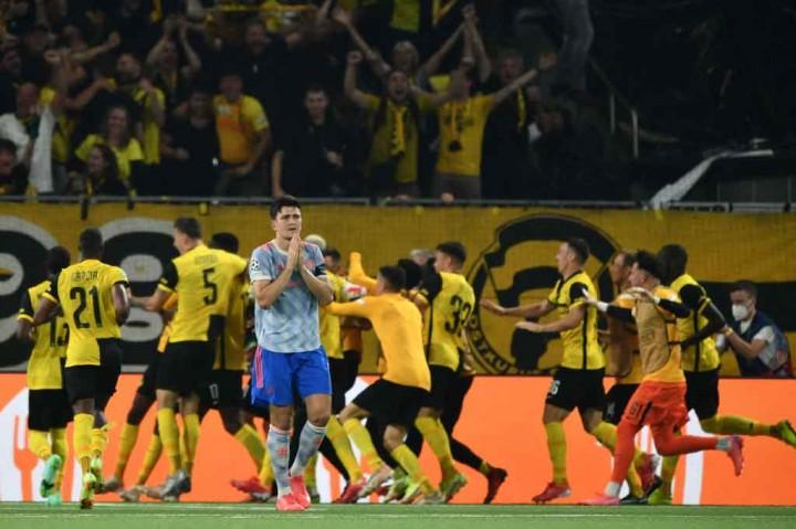 Liga Champions: MU Keok di Kandang Young Boys 1-2