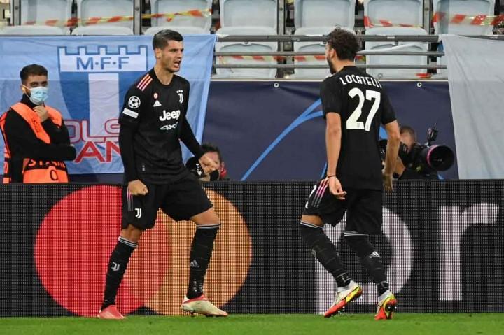 Liga Champions: Juventus Gilas Malmo 3-0