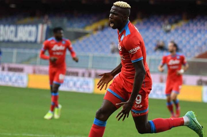Sampdoria Vs Napoli: Partenopei Menang Telak 4-0