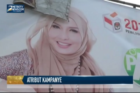 Masa Tenang, Arzetti Copot Atribut Kampanye