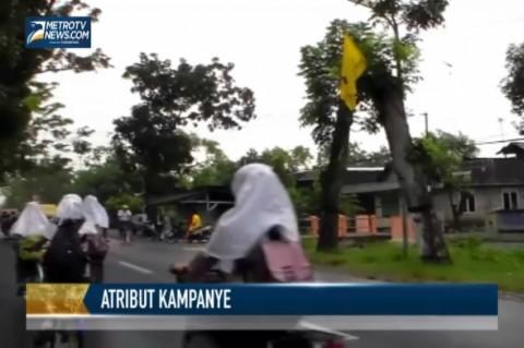 Alat Peraga Kampanye masih Marak di Bojonegoro
