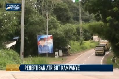 Atribut Kampanye Caleg masih Marak di Banten