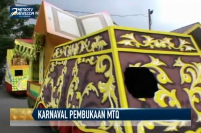 Ribuan Peserta Ikuti Karnaval Pembukaan MTQ