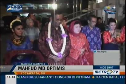 Mahfud MD Optimis Jadi Cawapres Jokowi