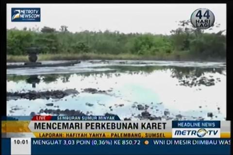 2 Danau Tercemar Semburan Minyak Mentah