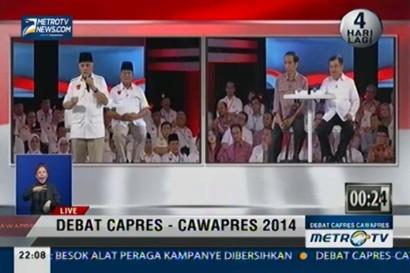 Debat Capres-Cawapres 2014: Pangan, Energi, dan Lingkungan (4)